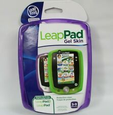 Leap Frog Leap Pad 2 Gel Skin Protective Cover Case Purple Sparkle New