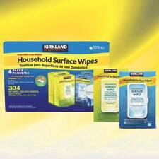 Kirkland Signature Household Surface XL Wipes 304 (160 Fresh Air / 144 Lemon)