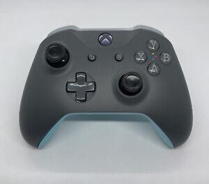 Microsoft Xbox One Wireless Controller 1708 GREY & BLUE - Brand New Thumbsticks