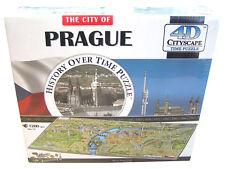 4D Cityscape Time Puzzle Prague