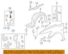 HONDA OEM Interior-Cowl Trim Clip 91560S9AA01