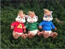 Alvin and the Chipmunks 3 squirrel Alvin Theodore Simon Plush Toy Doll Xmas gift