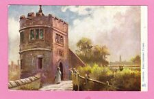 Two Raphael Tuck Cards one dated 1906. King Charles' Tower & Watergate, Chester
