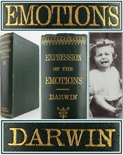 CHARLES DARWIN*1873*EXPRESSION OF EMOTIONS:MAN & ANIMALS*PSYCHOLOGY/PHOTOGRAPHY*