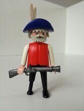 Playmobil Figure - Wooden leg Grandpa with shotgun (Loose)
