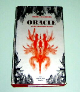 1968 ORACLE OF THE THOUSAND HANDS Experimental Erotic Novel  BARRY MALZBERG