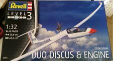 Gliderplane Modellbausatz Duo Discus Engine 1:32 Revell 03961 Segelflugzeug
