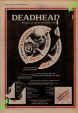 Grateful Dead Reckoning Advert NME Cutting 1981