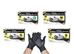 BLACK NITRILE / CLEAR VINYL PH SHIELD GD09 GLOVES