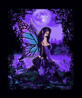 Nu Trendz Luxury Plush Super Soft Queen Size Blanket--Full Moon Fairy