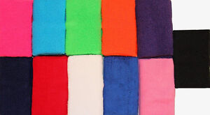 "NEW!! 4"" Wrist bands - Choose from an assortment of colors (sold in pairs)"