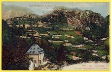 cpa 09 - AX les THERMES (Ariège) VILLA des CASCATELLES du Ministre Delcassé