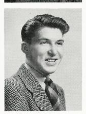 WALLY SCHIRRA Sr. Year High School Yearbook ASTRONAUT Mercury, Gemini AND Apollo