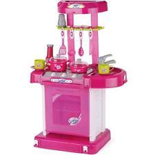 Toyrific Kinder Mädchen Rosa Spiel Lichter Und Klang- Komplett Küche Foldup Set