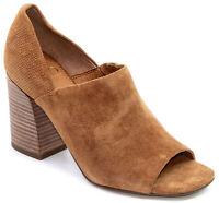 SARTO BY FRANCO SARTO  Ellison Block Heel Peep-Toe Leather Sandal