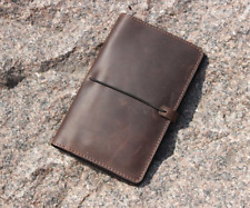 leather cover for pocket size field notes notebook
