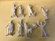 LOT FIGURINES PUB ANCIENNES MOKAREX BRET'HIST PLASTIQUE ref1019 LES REGIONS