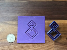 Double Square Polymer Clay Cutter