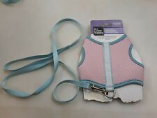 All Things Living Large Reversible Pet Vest Harness w/ Leash Ferrets/Rabbits New