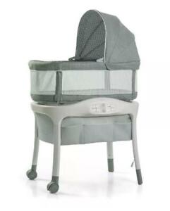 🔥🔥🔥 Graco Sense2Snooze Bassinet with Cry Detection Technology-Bridgton