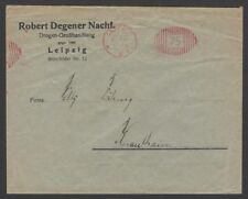Germany Inflation July 1922  75M meter frank cover