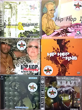 Lotto stock rare library sonorizzazioni hip hop rap 7 CD