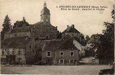CPA  Breurey-les-Faverney - Place du Centre - Quartier de l'Eglise  (636697)
