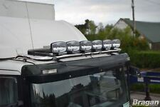 To Fit Scania P G R 6 Series 09+ Low Day Cab Steel Roof Light Bar + Flush LEDs