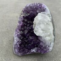 Amethyst Druze Crystal Cluster With Cut Base ~ Exact Specimen (ACB_23)