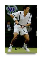 Tim Henman Signed 6x4 Photo Wimbledon Tennis Genuine Autograph Memorabilia + COA