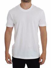 NWT DOLCE & GABBANA D&G Underwear White Cotton Short Sleeve T-shirt IT4 / US S