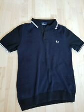 Fred Perry Knitted Polo Shirt - Slim - 36 inch Chest
