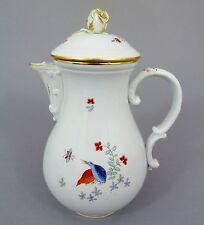 (MK116) Meissen; Kaffeekanne, seltenes  'Wachteldekor', um 1930, Höhe ca. 25cm