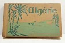 l'Algerie Collection Ideale Vintage Postcard Book with 40 postcards unused RARE