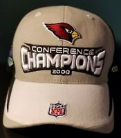 ARIZONA CARDINALS 2008 CONFERENCE CHAMPIONS HAT Reebok Pre-Owned Great Condition
