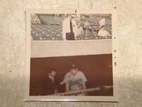 1970's GLOSSYCOLOR Dodgers coach   BASEBALL PHOTO