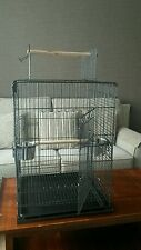 Open Top African Grey Parrot Travel Cage-easy to flat-pack and store after use