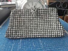 Vintage Rhinestone Evening Bag - Excellent Condition!!