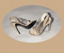 In My Skin Colette SHOES  tan  nude HEELS  for FR 6.0, FR2, NF Integrity