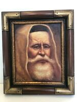 "A. Paske Original Oil Painting Old Man Portrait, Signed, Framed, 7 1/2"" x 9 1/2"""