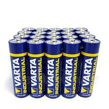 20 x Varta AA batteries Alkaline Industrial LR6 MIGNON 4006 1.5V FREE Shipping