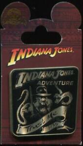 Indiana Jones Adventure Trust Me Disney Pin 121203
