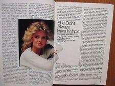 1984 TV Guide(TERI COPLEY/FARRAH FAWCETT/LAURA JOHNSON/LIZ SAGAL/ROBERT FOXWORTH