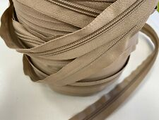 PER METRE CONTINUOUS ZIP & 2 SLIDERS No. 5 ZIPPERS CUSHIONS UPHOLSTERY