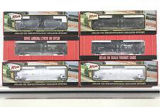 Lot of Six (6) Atlas Tank Cars - HOKX, CALX, ACFX
