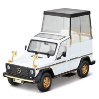 Papamobile Mercedes-Benz 230 GE Bburago 1:43 Scale Diecast Model Car Vehicle Toy