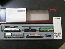 "Marklin spur z scale/gauge ""Alpentransit"" Train Set. (Very Rare)."
