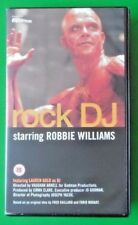 ROCK DJ ROBBIE WILLIAMS MUSIC VIDEO VHS 2000 9 MINS NEW AND SEALED