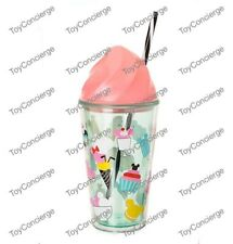 Disney Store Disney Eats Ice Cream Tumbler with Straw - New