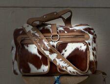 Nappy bag Handbag Genuine leather Cowhide  Ladies Bag weekender travel Babybag